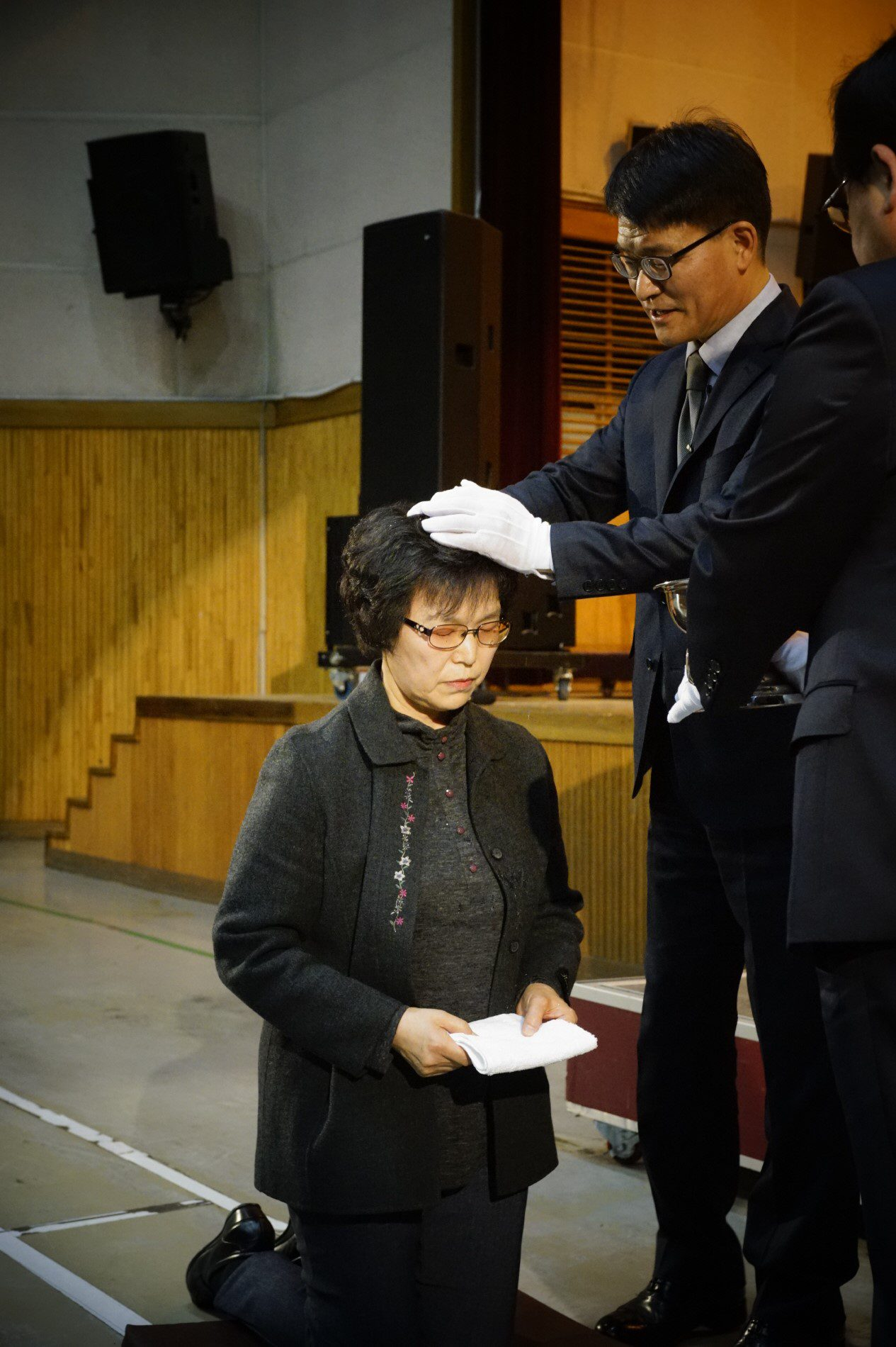 2018년 3월25일 입교세례식(장년부)2