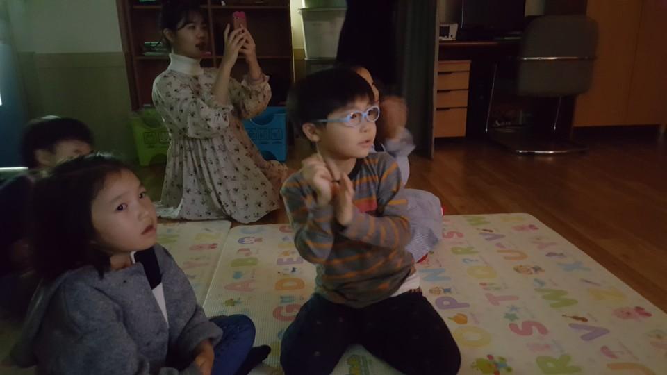 유치부 예배와 생일파티
